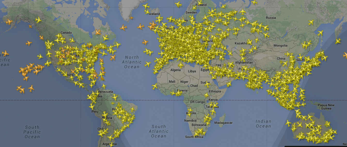 FLIGHT TRAFFIC LIVE